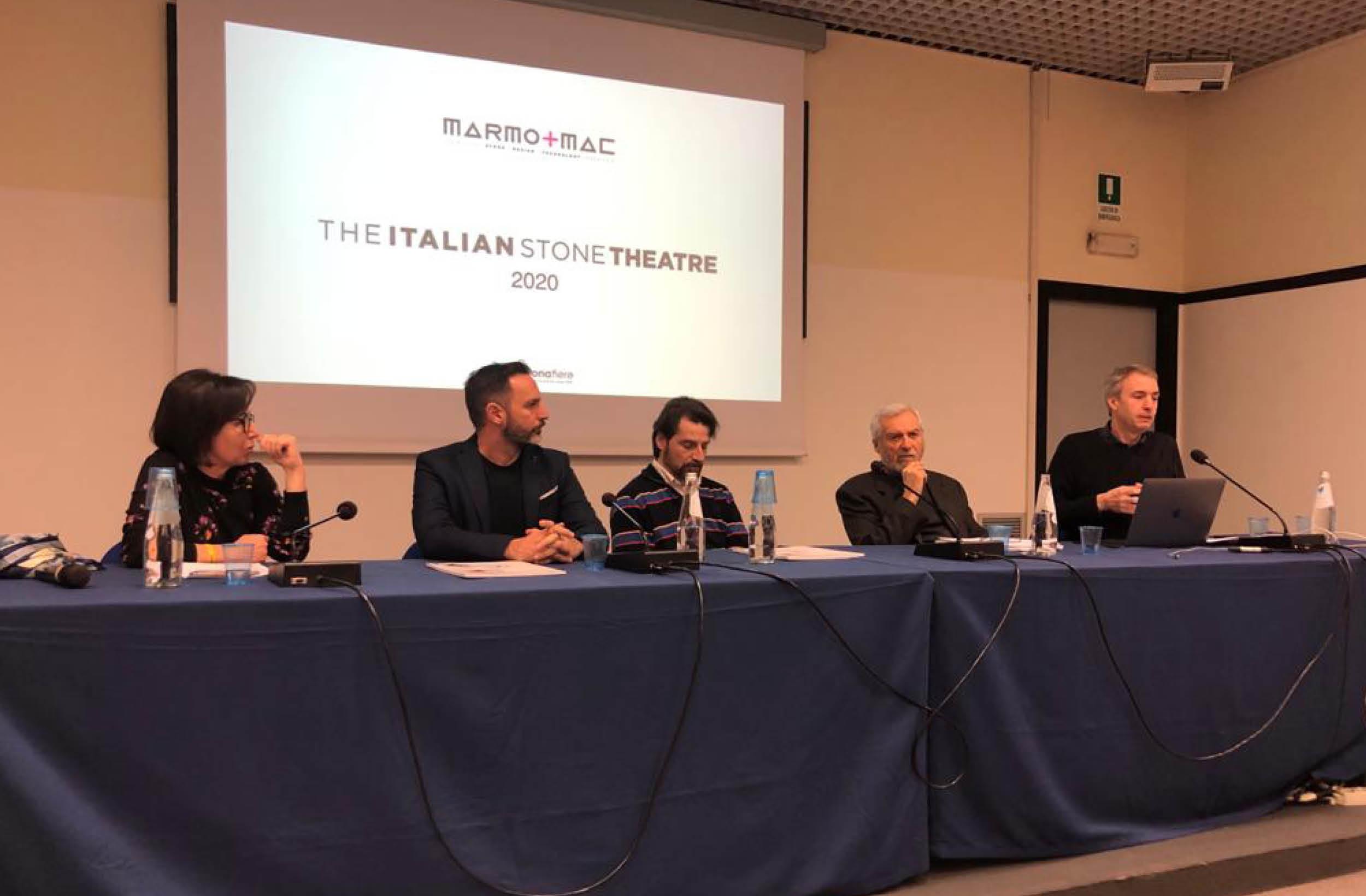 """Presentato oggi """"The Italian Stone Theatre"""" 2020"""