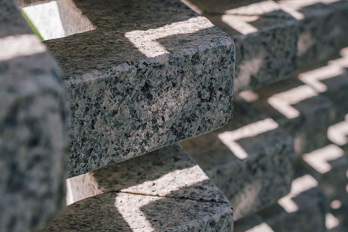 In the shade of granite