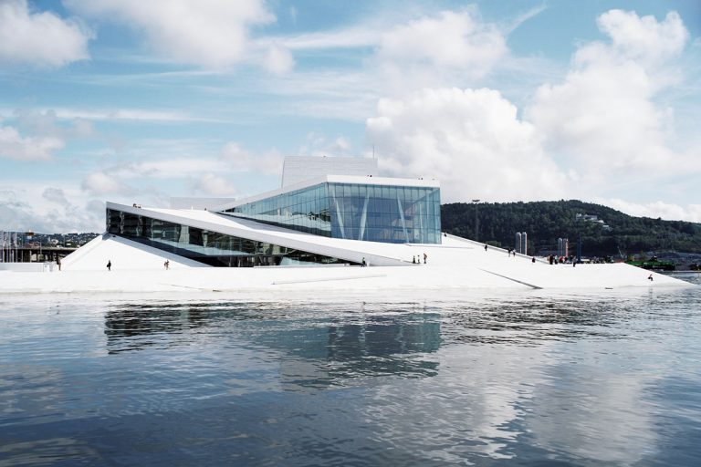 Modern Architecture: Oslo Opera House by Snøhetta, Oslo, Norway
