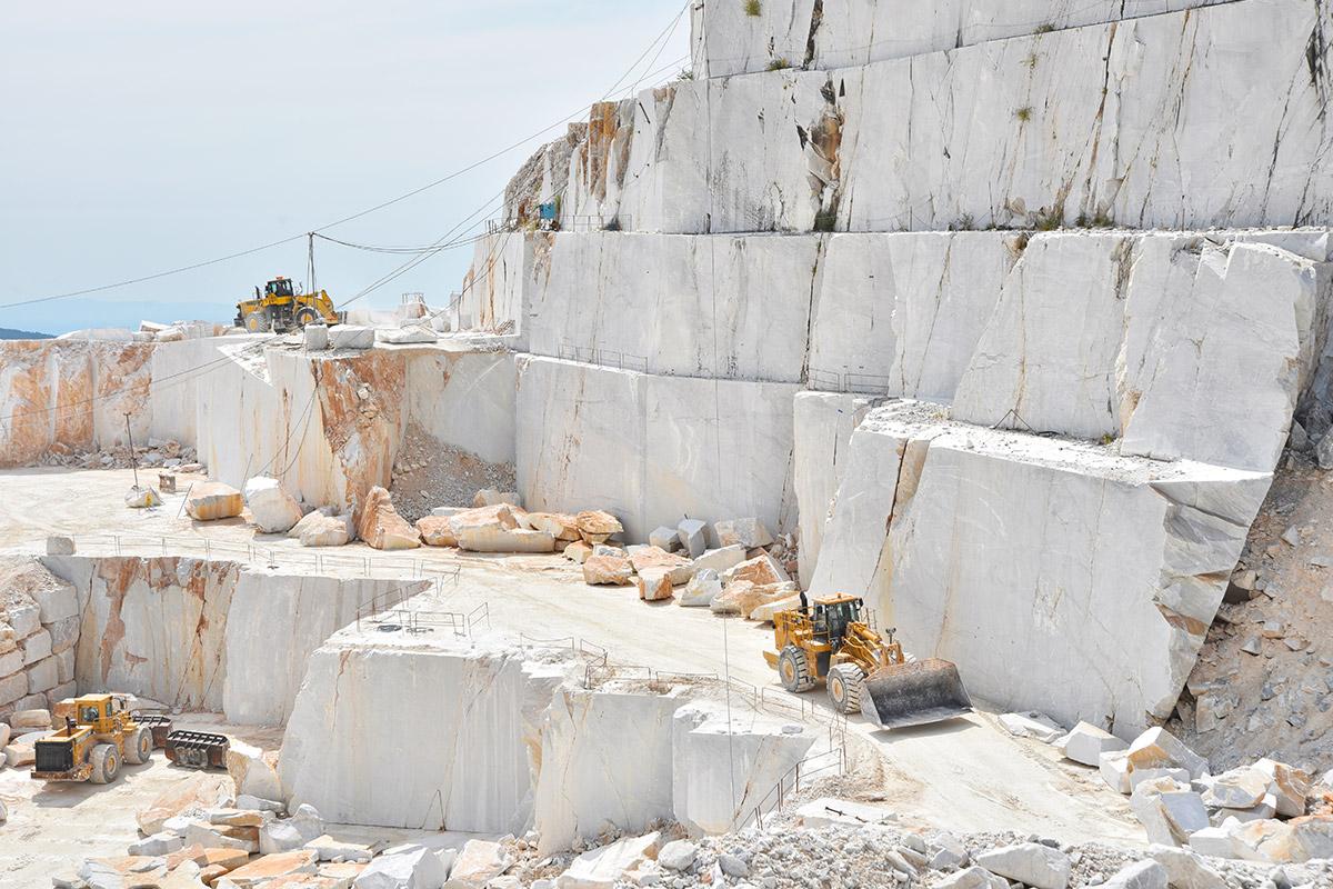 Il Marmo bianco di Carrara