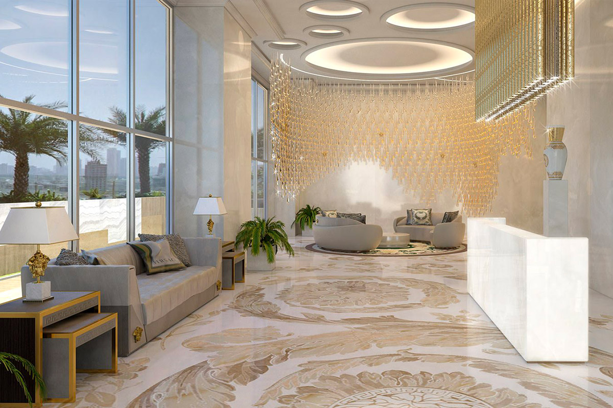 Marble & Shop: Versace and the marble world