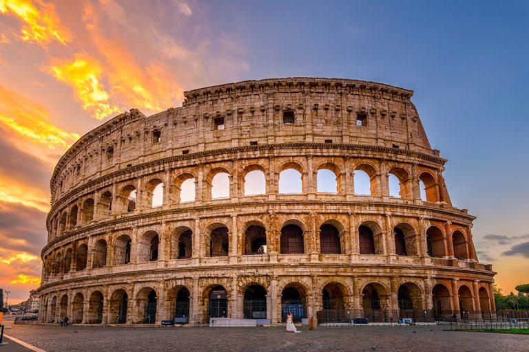 Il travertino e l'Impero Romano
