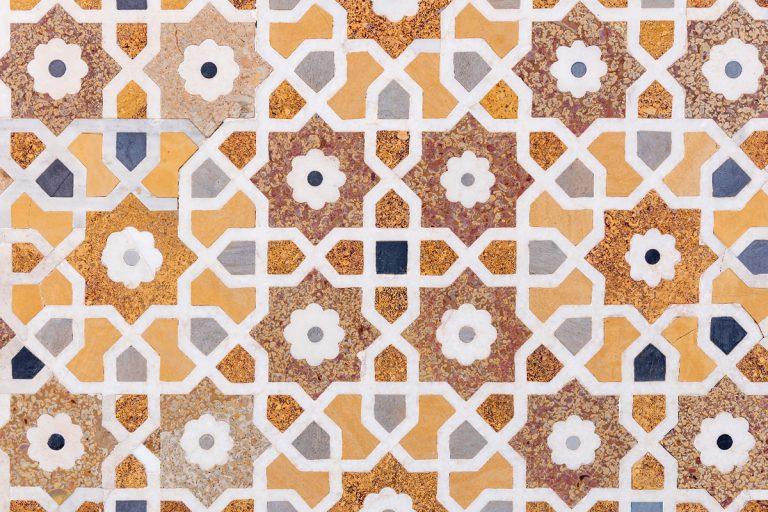 Marble mosaics: maximum elegance and creativity