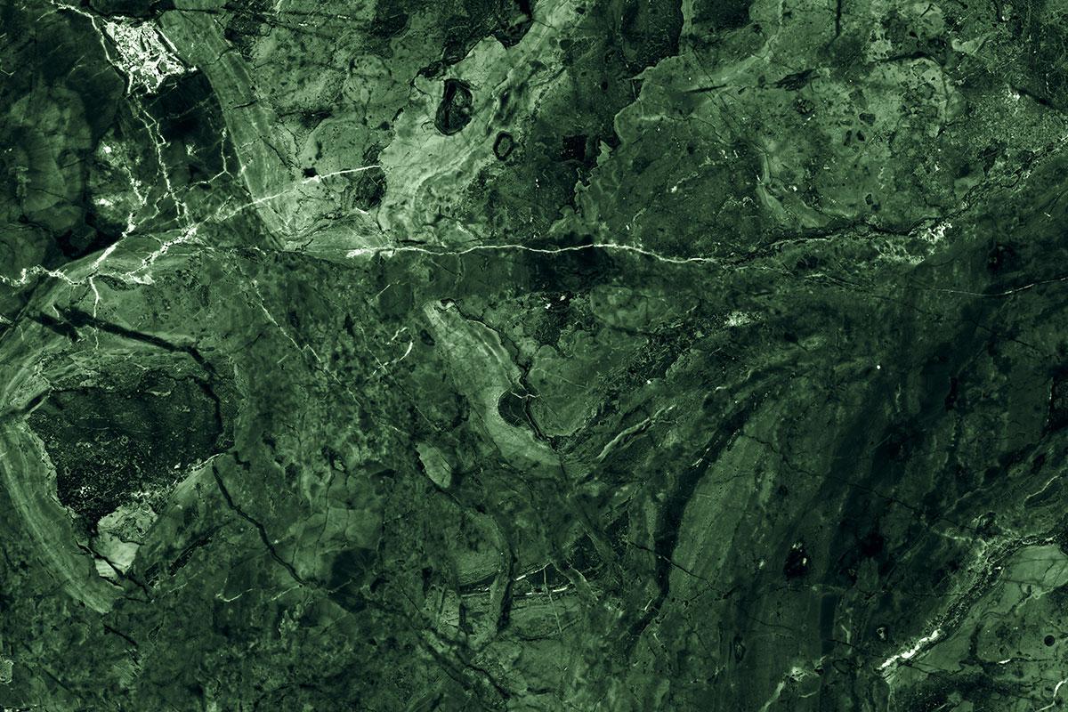 Il marmo verde: 3 tipologie che richiamano l'equilibrio, la calma e il benessere