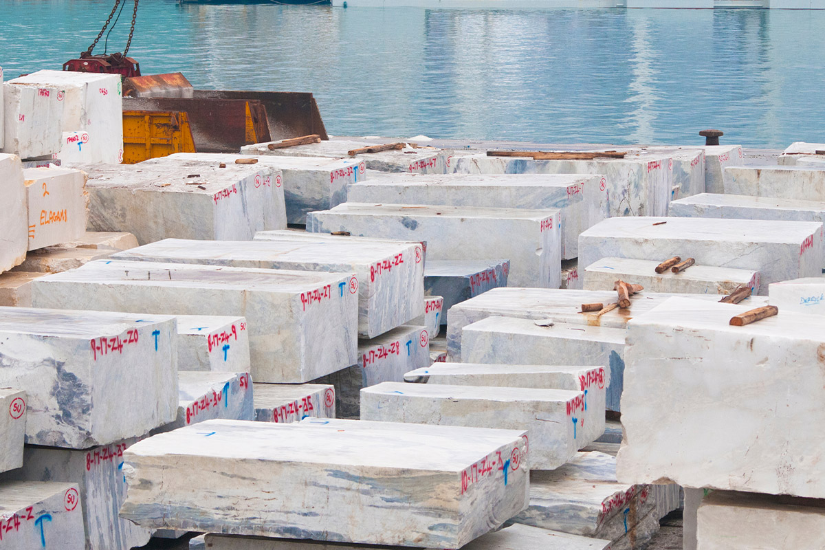 """Italian marble and the return of exports: a """"new spring"""""""